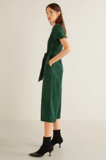 Colors That Affect Mood: Emerald Green Jumpsuit