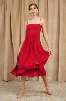 Colors That Affect Mood: Ruby Red Dress